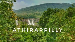 Mesmarising Athirappilly water falls♥