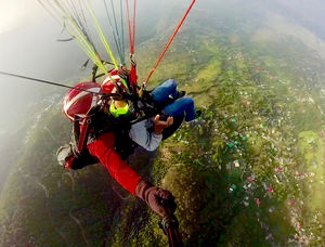 How I Paraglide Out My Fear!!