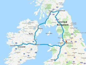 7 days in UK & Ireland