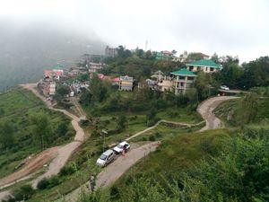 View point Naddi Himachal Pradesh, India