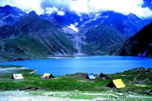 Trek to Gangabal Lake, Nundkol Lake