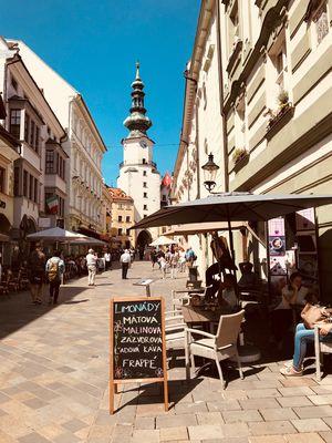 A piece of Bratislava