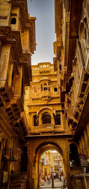 The city which is called as 'CITY OF GOLD' must visit 'JAISALMER'