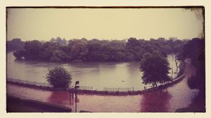 Rainy day travel to Hauz Khas