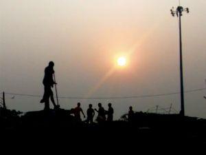 MG Park, Puri, Odisha by the sea