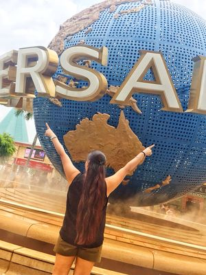 Me at Universal studios (Singapore) August 2018 picture @tripotocommunity  @tripoto
