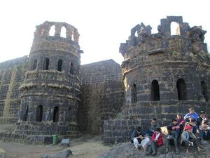 Trek to Raigad Fort-1st Feb 2015 - Mapping Journeys!
