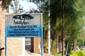 Heaven Restaurant and Hotel in Kigali, Rwanda