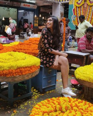 Feel the Flower Power in Bangalore's KR Flower Market