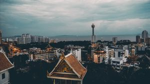 Pattaya from above