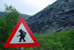 Troll hunting in Norway
