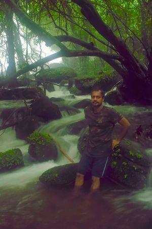 Urulanthanny water falls Thattekad Kerala