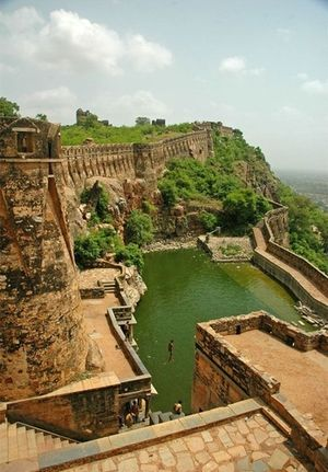 Chittorgarh Fort 1/85 by Tripoto