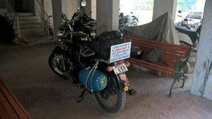 Ride to Raan of Kutch and North west temple of India, 4 Days and 2800+ Bike ride  : Day 1