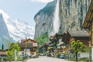 Lauterbrunnen- A beautiful town in Switzerland