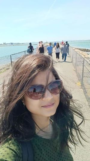 Castle island #SelfieWithAView#TripotoCommunity