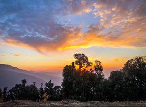 Land Of Beautiful Sunsets: Nag Tibba Trek