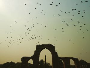 Great moments await around every corner ???? #Qutubminar #Ironpillar #mughalarchitecture