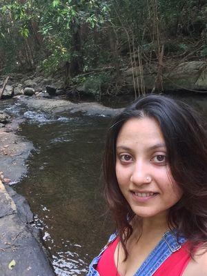 Samandar sang nadi bhi beheti hai yaha #SelfieWithAView #TripotoCommunity