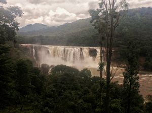 Largest waterfall in kerala