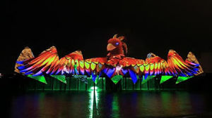 "Dancing Lessons Onto ""Songs Of The Sea"" At 'Wings Of Time' At Sentosa, Singapore!"
