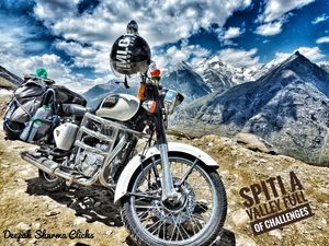 Spiti Bike Safari (A Forbidden valley of beauty and challenges)