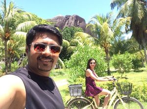 Summer @ Seychelles!  #SelfieWithAView #TripotoCommunity