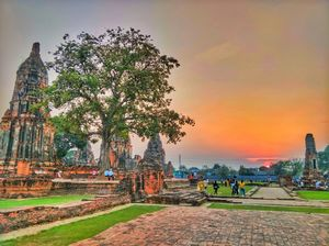An ancient temple in Ayutthaya, Thailand