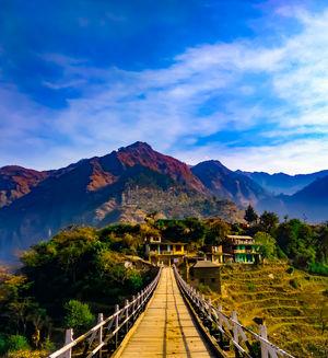 A gate to heaven @ Hanogi Bridge, Himachal Pradesh #BestTravelPictures #Tripoto #Himachal #Contest