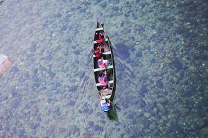 Dawki, Meghalaya - A hidden gem with crystal clear river water. #northeastphotos