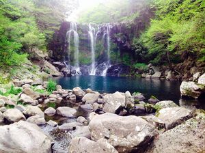 Cheonjeyeon Waterfall 1/1 by Tripoto