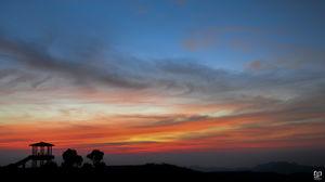 The Sun set at Kemmangundi @jetairways @tripotocommunity #BestTravelPictures