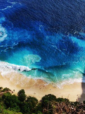 Crystal blue beaches