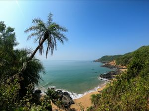 The hidden paradise in Gokarna