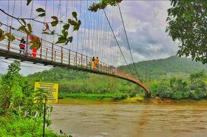 Inchathotty Suspension Bridge, Kerala