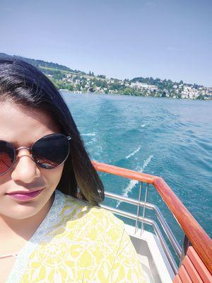Zindagi Samundar ke bich hai, Par dil pahaado me hai #SelfieWithAView #TripotoCommunity #VivoSelfie