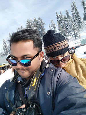 #SelfieWithAView  #TripotoCommunity #HeavenOnEarth #Snowfall #Tripoto Community #SelfieWithView