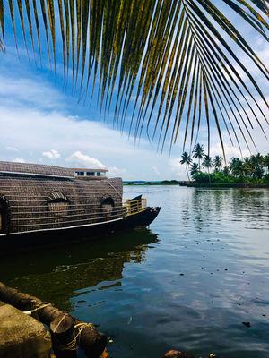 #IWillGoAnywhereForFood:food on houseboat of alleppey,kerala.