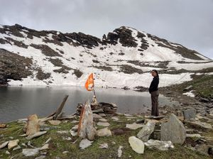 Hike of a lake appointed with divine powers and create a shield of warm environment.