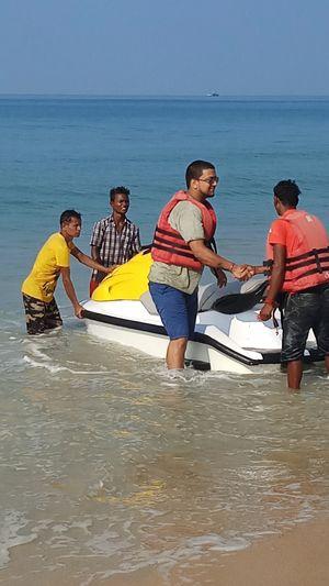 Incredible Goan water sports!