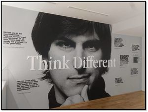 Think Big Think Different, If you own an Apple product, this place is a must visit.