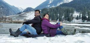 Betaab Valley -- Pahalgam... Mighty Himalayas...!!! #TripotoClicksHimalayas