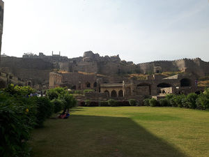 A visit to Golconda Fort and Charminar of Hyderabad