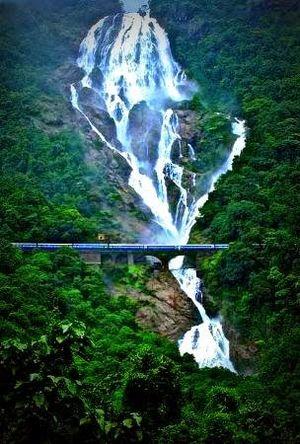 Doodhsagar Waterfall