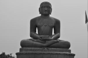 // Lord Mahavir Statue //Ahinsa Sthal //