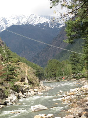weekend  relaxing at Kasol and trek to Kheerganga , Himachal pradesh