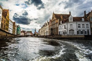 Bruges-  a city which has no sightseeing points but is still named as a UNESCO World Heritage site.