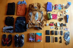 How to pack that backpack?