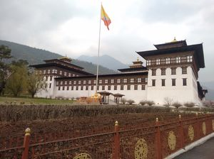 Tashichho Dzong (Thimpu Dzong) 1/undefined by Tripoto