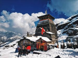 Tungnath is the highest Shiva temples in the world and is the highest of the five Panch Kedar.